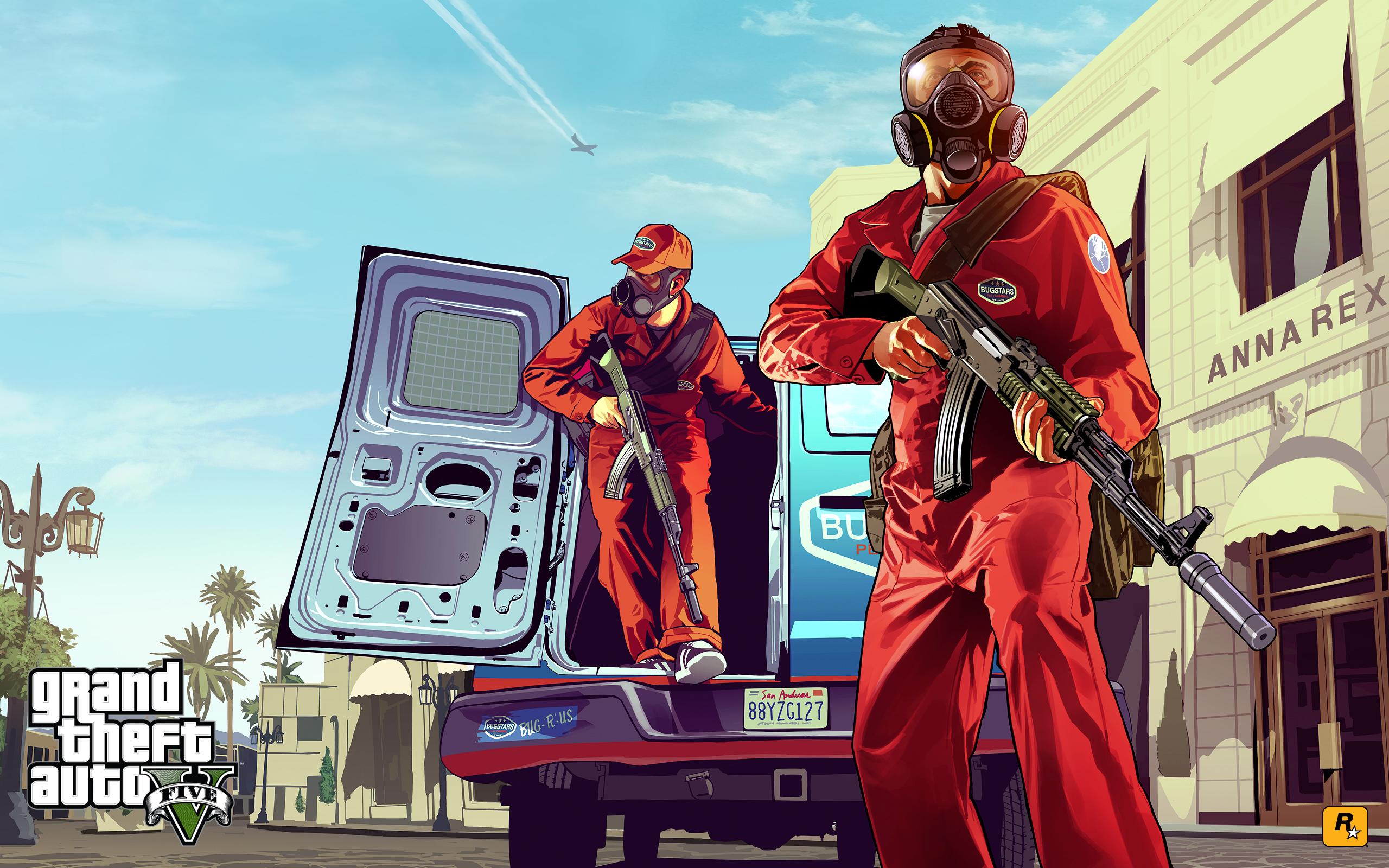 игровой арт Grand Theft Auto V Gta Riotpixels