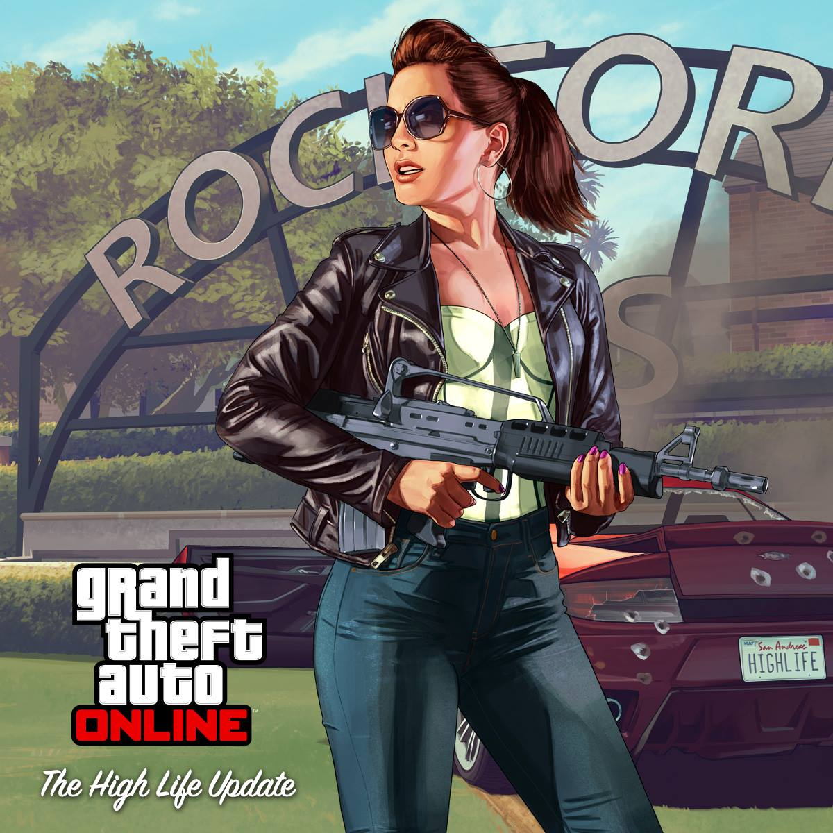 gta 5 online artwork