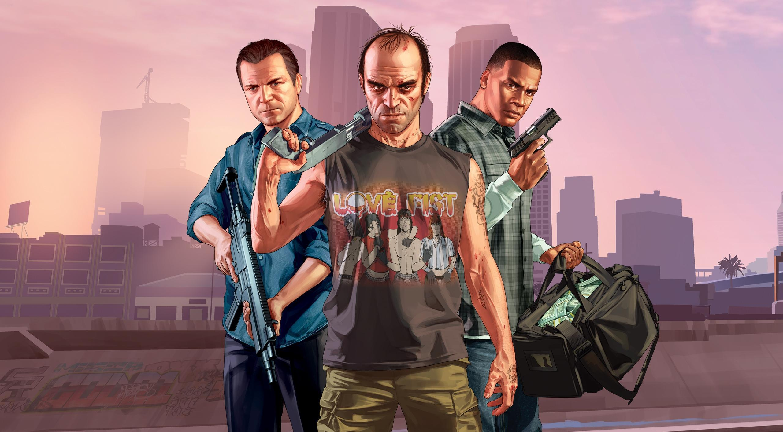 Grand Theft Auto 5 Michael Franklin