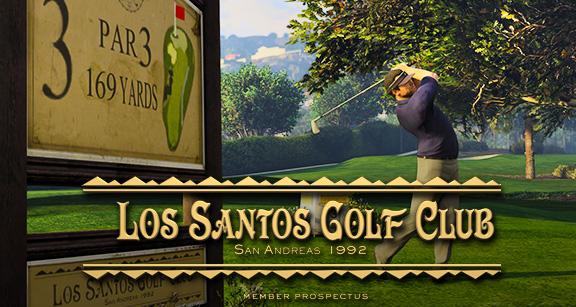 Гольф в Grand Theft Auto V