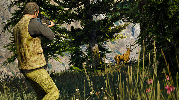 Охота в Grand Theft Auto V