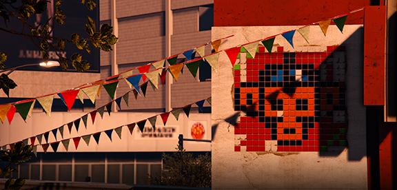 Обезьянья мозаика в GTA V