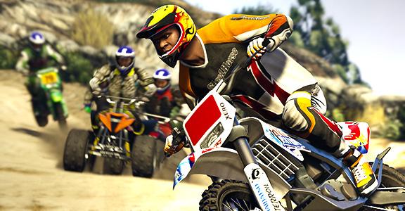 Внедорожные гонки в Grand Theft Auto V
