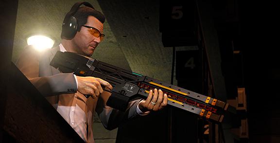 Тир Ammu-Nation в Grand Theft Auto V