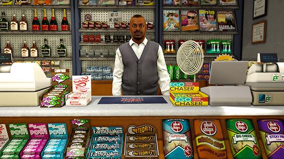 Ограбления магазинов в GTA V и GTA Online
