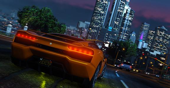 Уличные гонки в Grand Theft Auto V