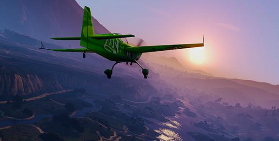 Аэробатика в GTA V