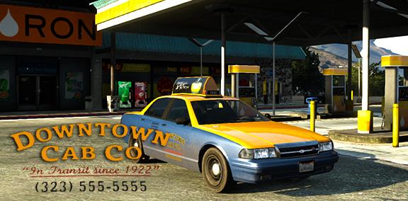 Работа таксистом в Grand Theft Auto V