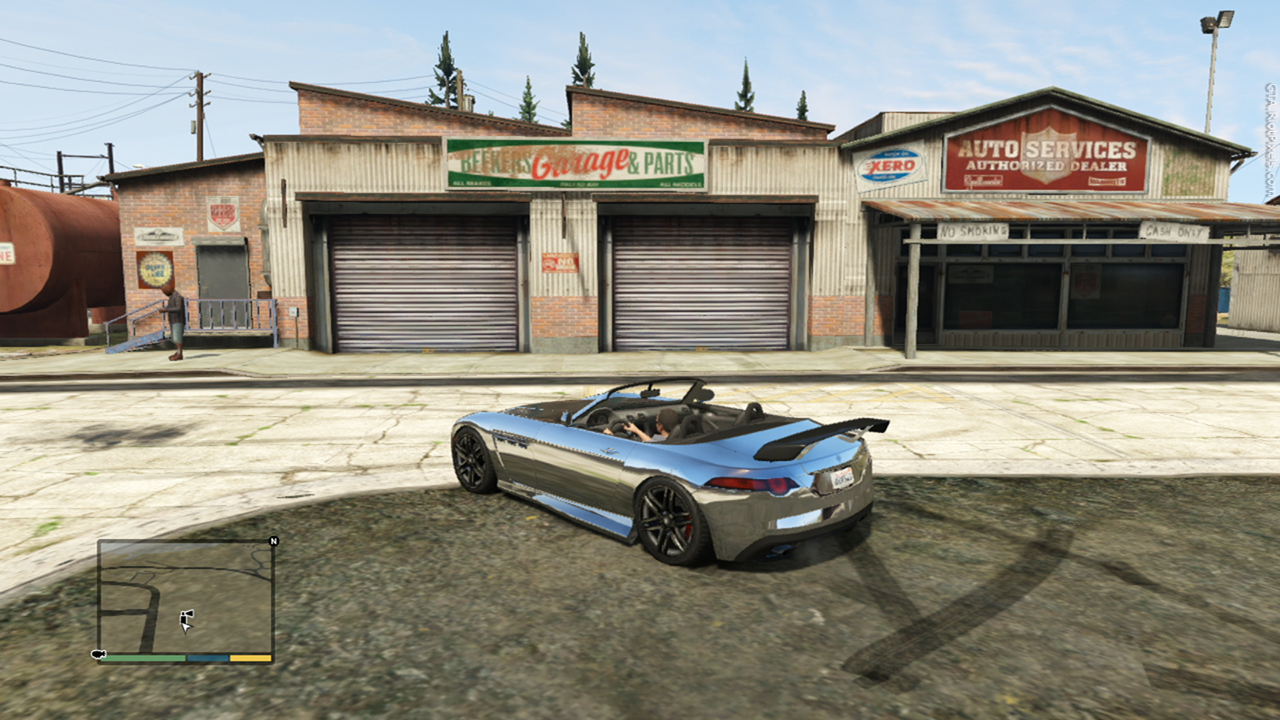 Gta v gta riotpixels for Voiture garage gta 5