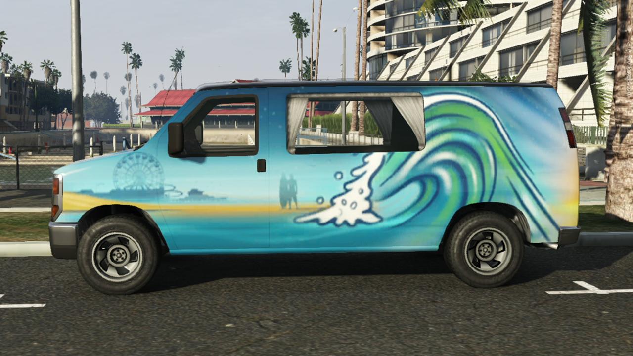 Раскраска фургоны
