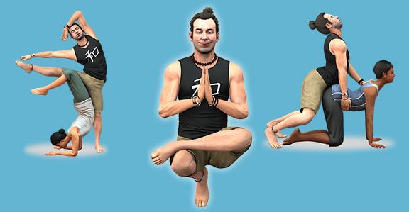 Йога в GTA V