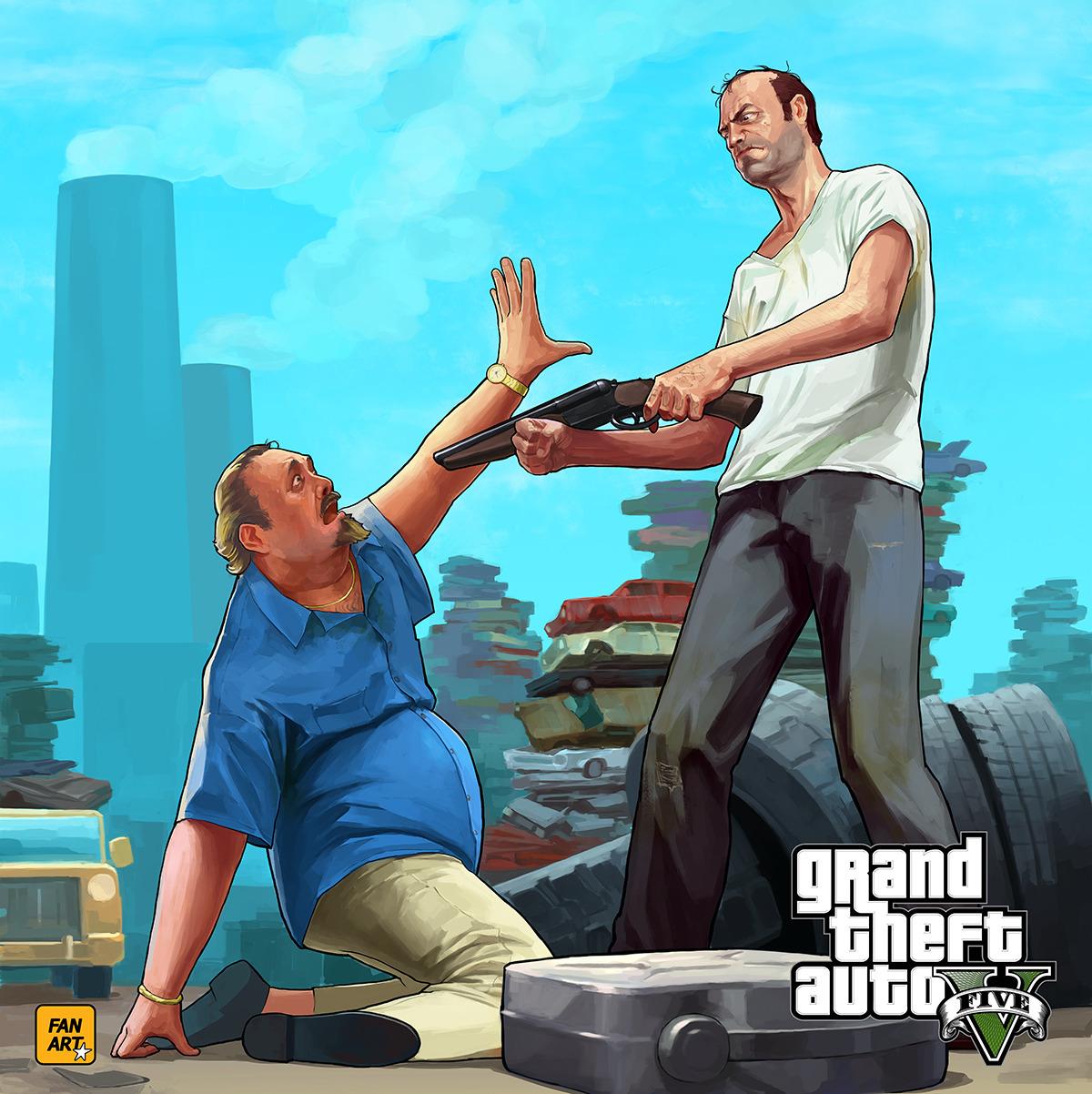 GTA 5 Fan art              igorrrrrrGta 5 Trevor