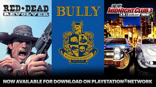 Rockstar PSN Classics