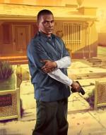 Арт GTA V: Франклин с «Глоком»