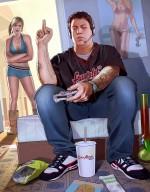 Арт GTA V: Джимми и Трейси