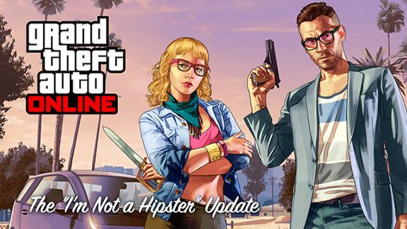 Обновление I'm Not a Hipster для GTA v и GTA Online