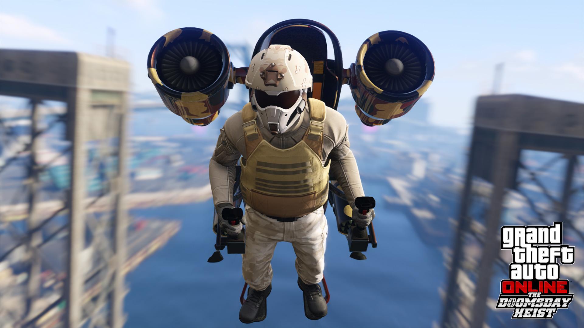 gta online the doomsday heist jetpack