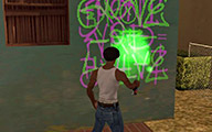 Прохождение GTA: San Andreas — 4. Tagging up Turf